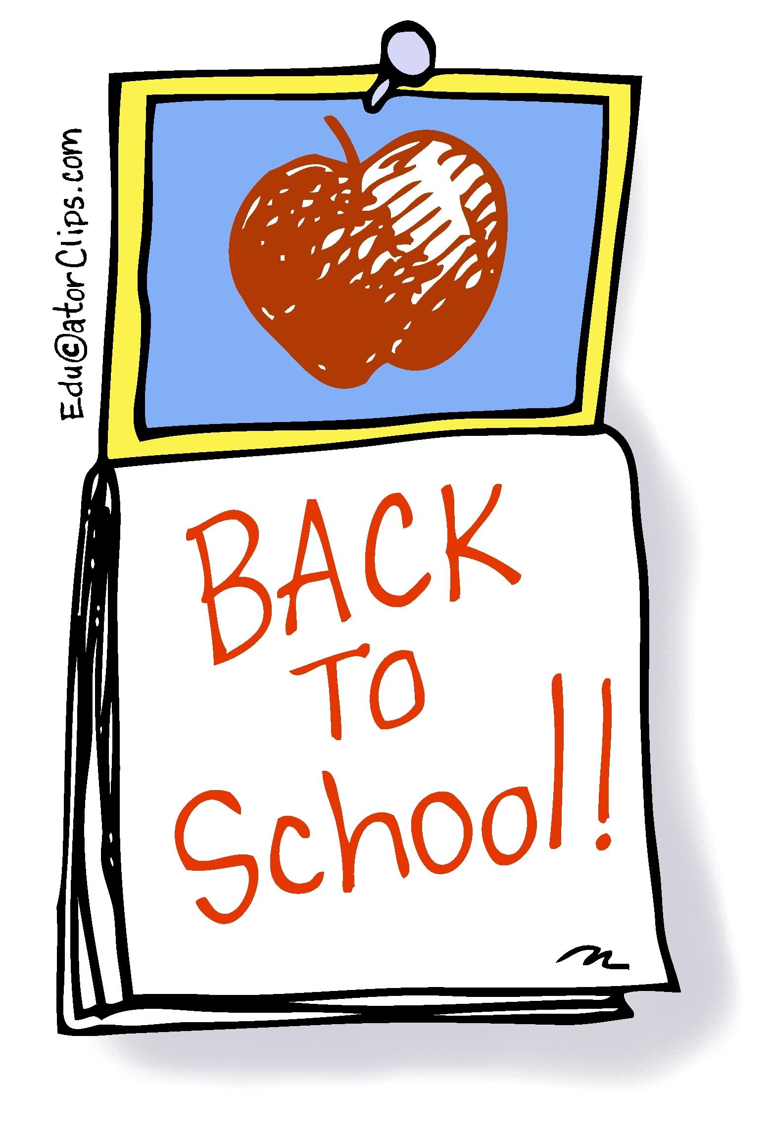 Clipart school calendar banner royalty free download Back to School Calendar Clip Art banner royalty free download