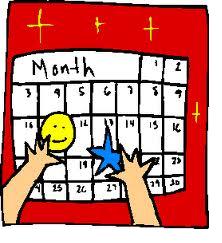Clipart school calendar vector freeuse stock Calendar Clipart For Teachers Clipart Scho #480496 - Clipartimage.com vector freeuse stock