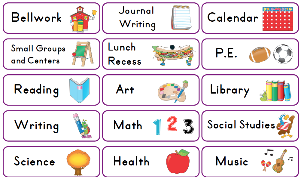 Free clipart for preschool daily schedule graphic free Free Class Schedule Cliparts, Download Free Clip Art, Free Clip Art ... graphic free
