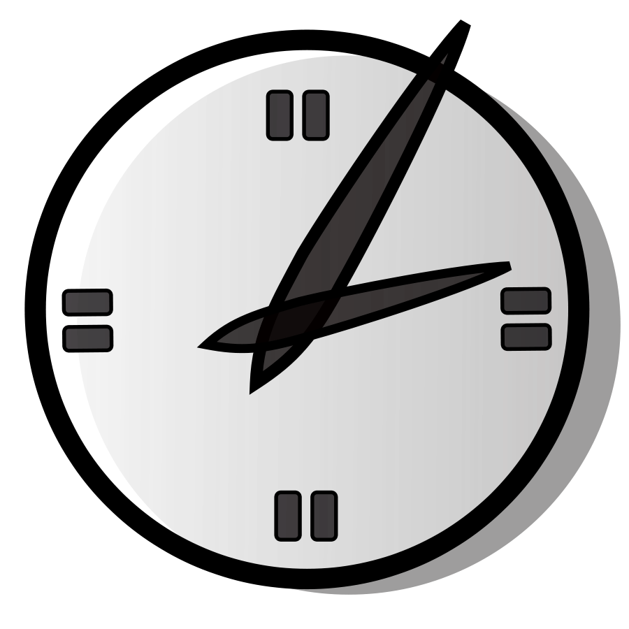 Analog clock clipart free clipart images - Cliparting.com vector free download