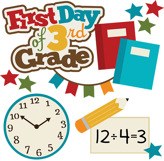 Happy first day of school clipart svg transparent download First Day Of 3rd Grade SVG school svg collection school svg files ... svg transparent download