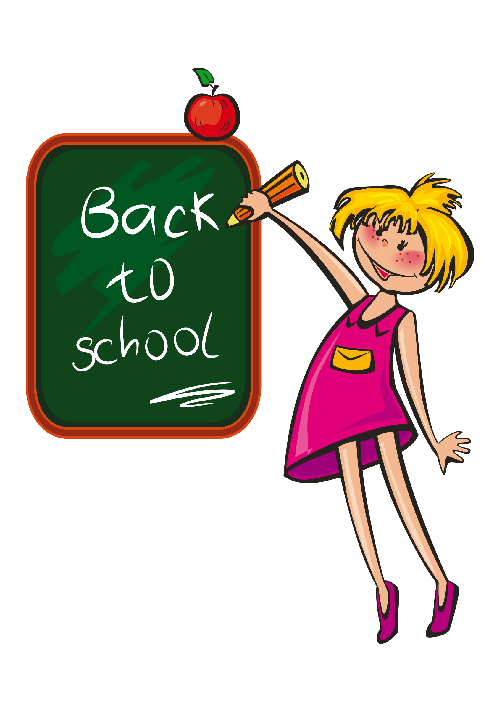 Happy first day of school clipart graphic library download Clipart - school days graphic library download