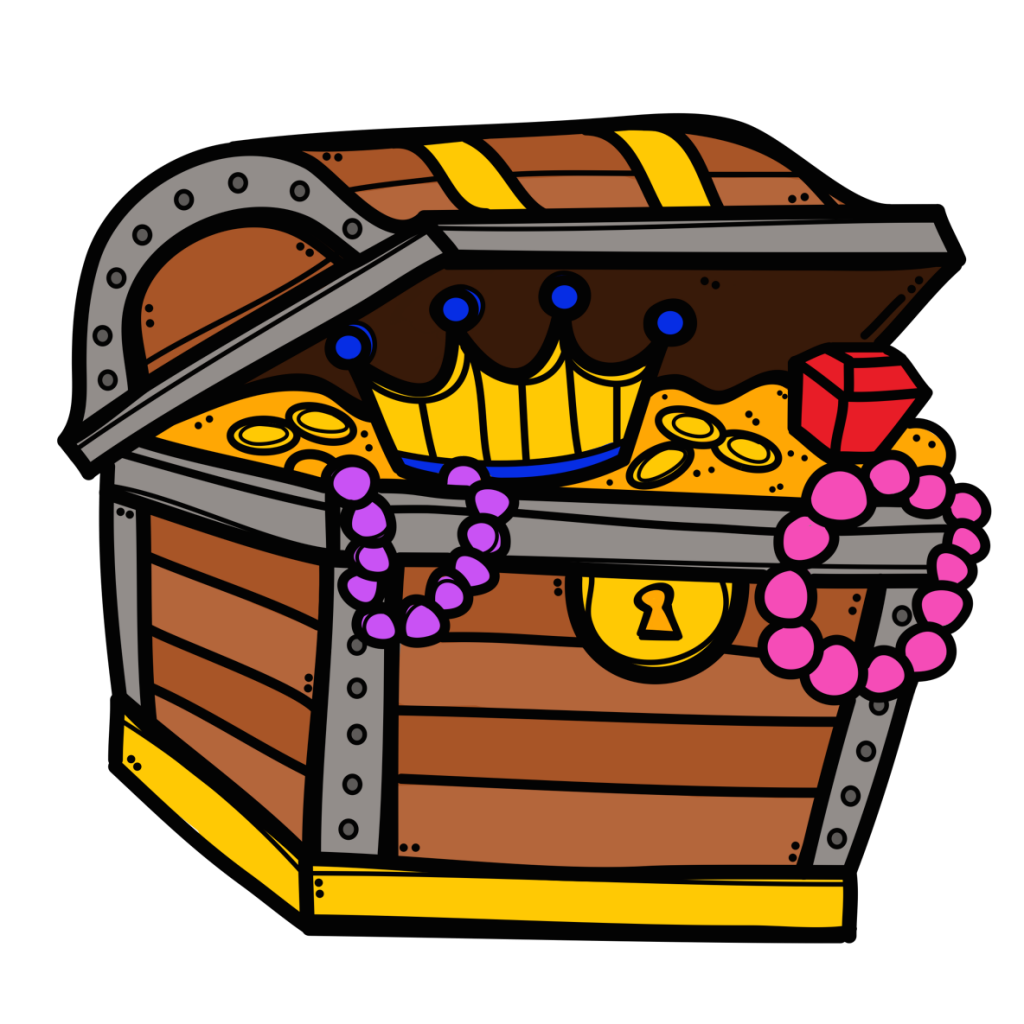 Old school boombox clipart svg black and white library Treasure-Chest-Open-1024x1024.png (1024×1024) | Clipart | Pinterest ... svg black and white library