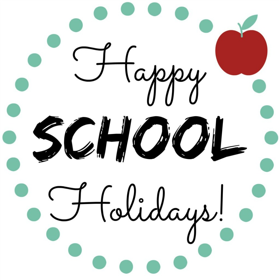 Clipart school holidays 2018 svg freeuse library Happy-School-Holidays - Church Eaton Endowed (VA) Primary School svg freeuse library