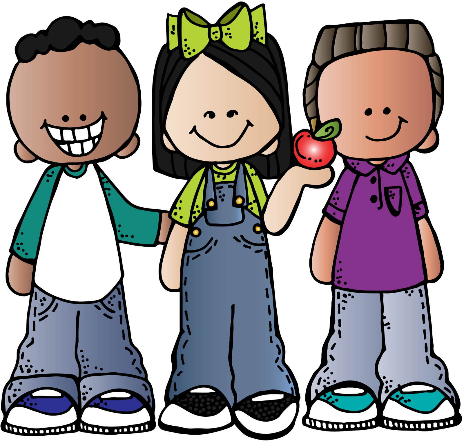 Friends at school clipart png download Teacher Clip art - school kids 1600*1523 transprent Png Free ... png download