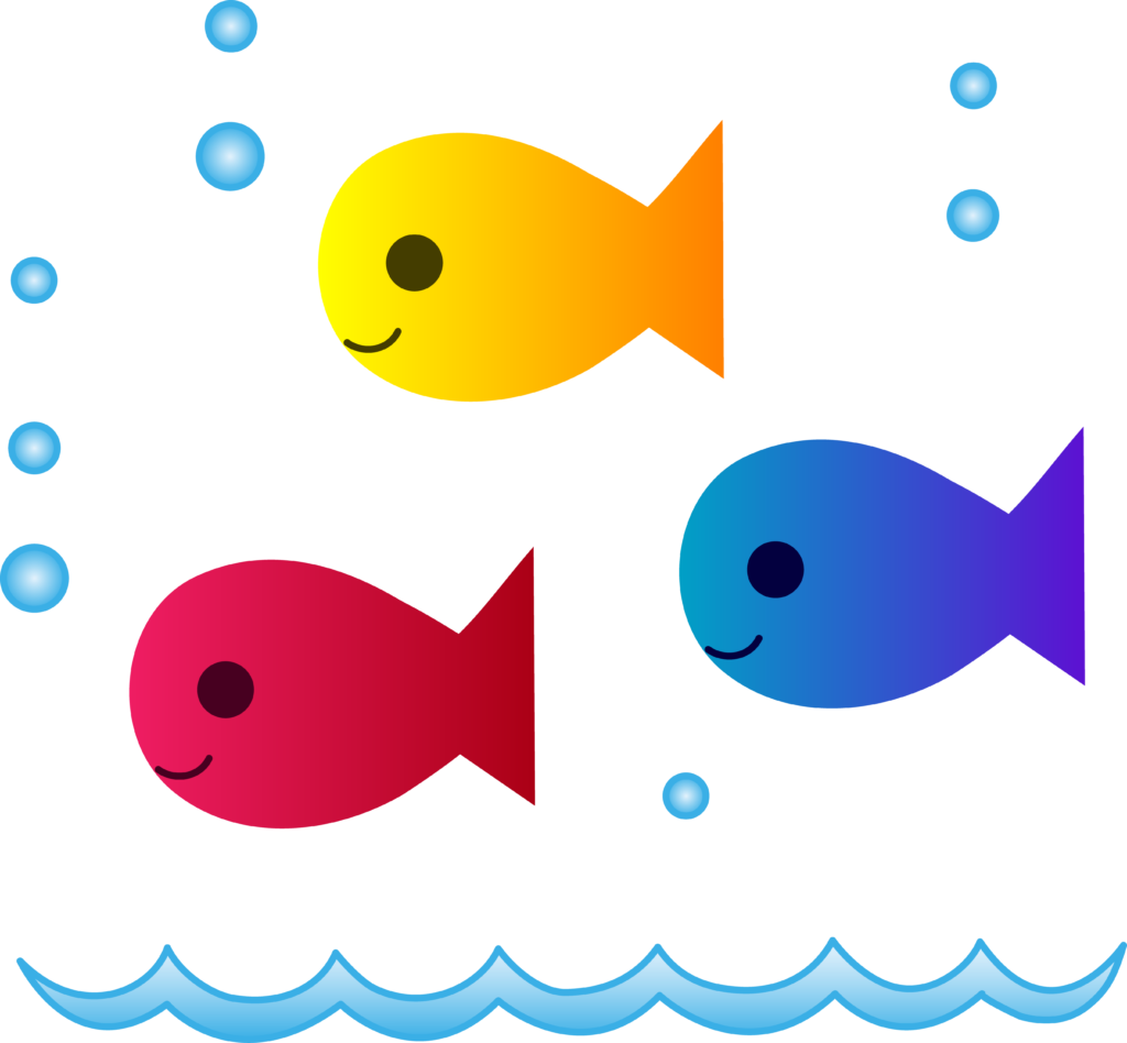 School Of Fish PNG Clipart - peoplepng.com banner library