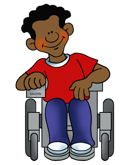 School things clipart jpg royalty free download School Clip Art by Phillip Martin, Student in Wheelchair jpg royalty free download