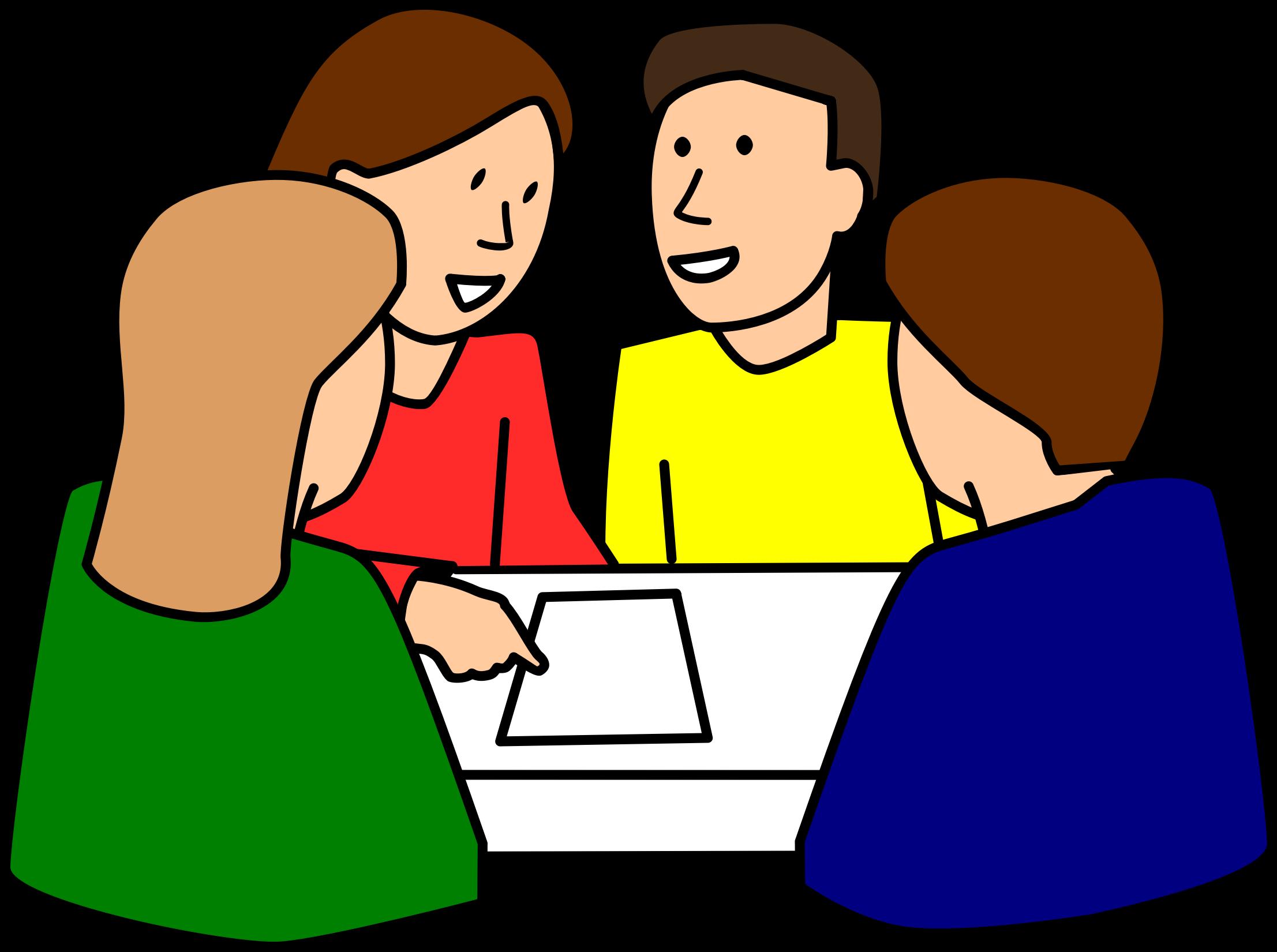 Clipart school work clip art library download Clipart - students group work clip art library download
