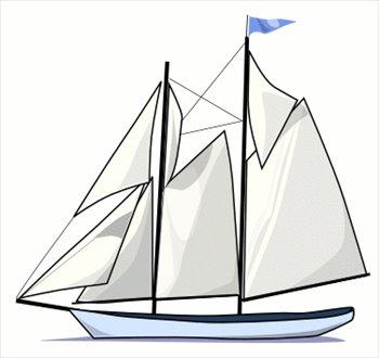 Clipart schooner clip Free schooner-1 Clipart - Free Clipart Graphics, Images and Photos ... clip