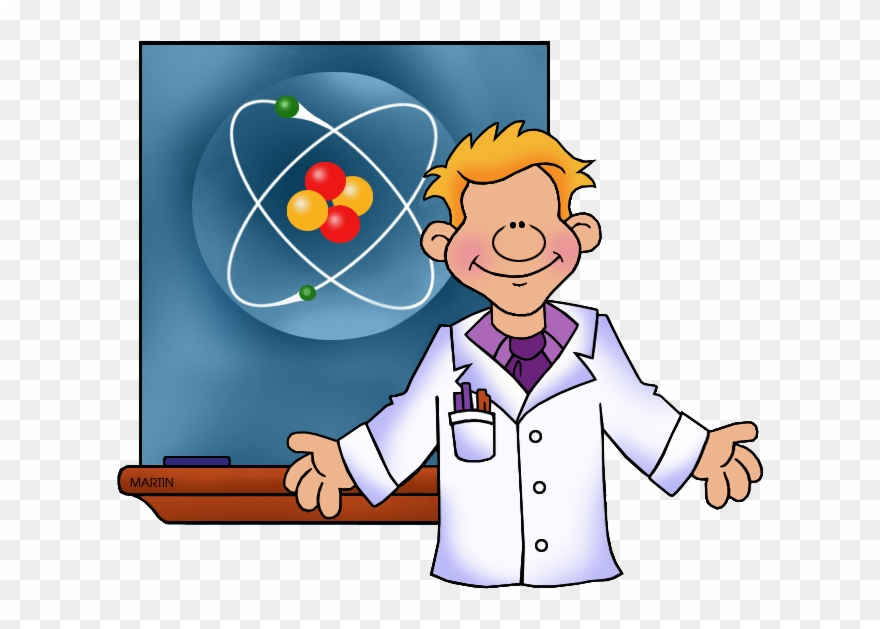 Clipart science teacher picture freeuse library Science Clipart Phillip Martin - Science Teacher In Cartoon - Png ... picture freeuse library