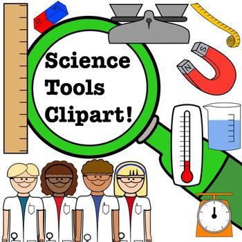 Scientist tools clipart clip art freeuse download Science Clipart Set- Scientists and Tools clip art freeuse download