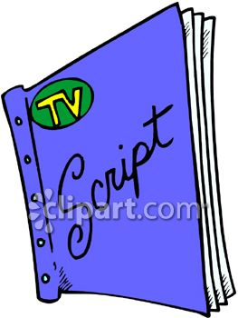 Clipart script png freeuse stock Television and script clipart image | Clipart.com png freeuse stock