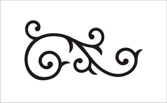 Clipart scrool flourish picture royalty free Free Scroll Flourish Cliparts, Download Free Clip Art, Free Clip Art ... picture royalty free