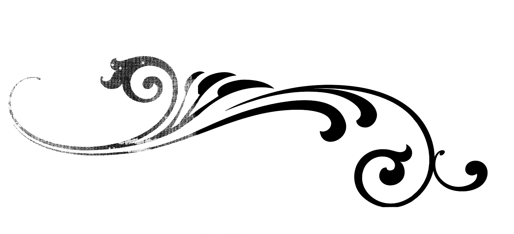 Clipart scrool flourish picture library Victorian Flourish Clipart | Free download best Victorian Flourish ... picture library