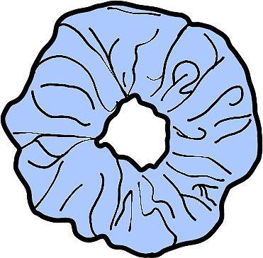 Clipart scruncies clipart download Blue Scrunchie   Sticker   Scrunchies in 2019   Scrunchies, Stickers ... clipart download