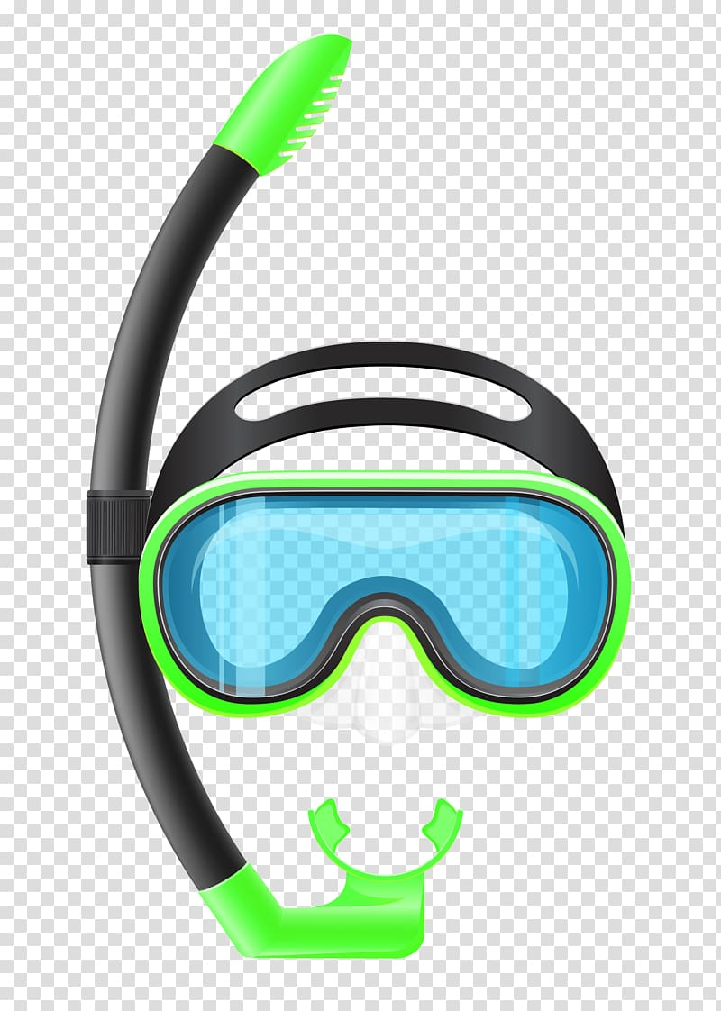 Clipart scuba gear banner royalty free Snorkeling Diving mask Scuba diving , Snorkel Mask , green and black ... banner royalty free