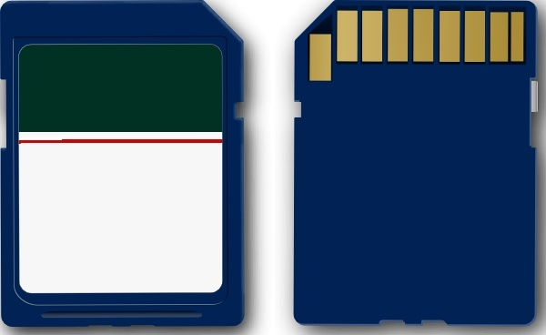 Clipart sd svg library stock Sd Card clip art Free vector in Open office drawing svg ( .svg ... svg library stock
