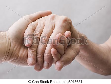 Clipart se donner la main png download Stock Photography of Young hand give help to old hand csp8915631 ... png download