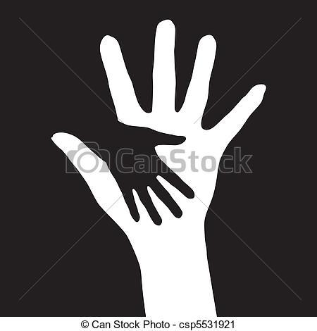 clipart se donner la main #1