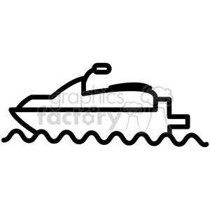 Clipart sea-doo black and white clip art freeuse sea doo water craft vector icon . Royalty-free icon # 398536 clip art freeuse