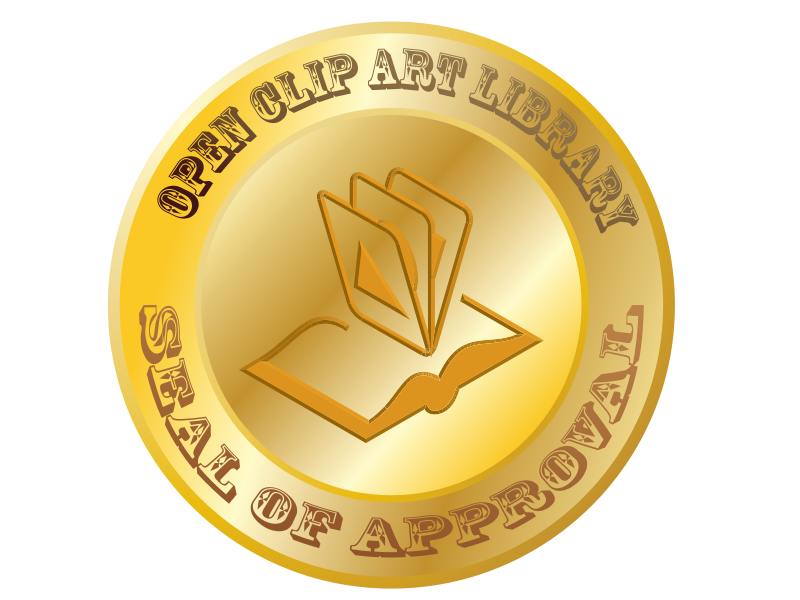Clipart seal of approval jpg free Free Clipart: Open Clip Art Library Seal of Approval | jhnri4 jpg free