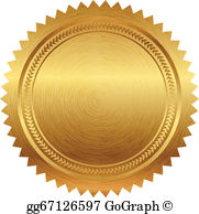 Clipart seal of approval svg royalty free library Seal Of Approval Clip Art - Royalty Free - GoGraph svg royalty free library