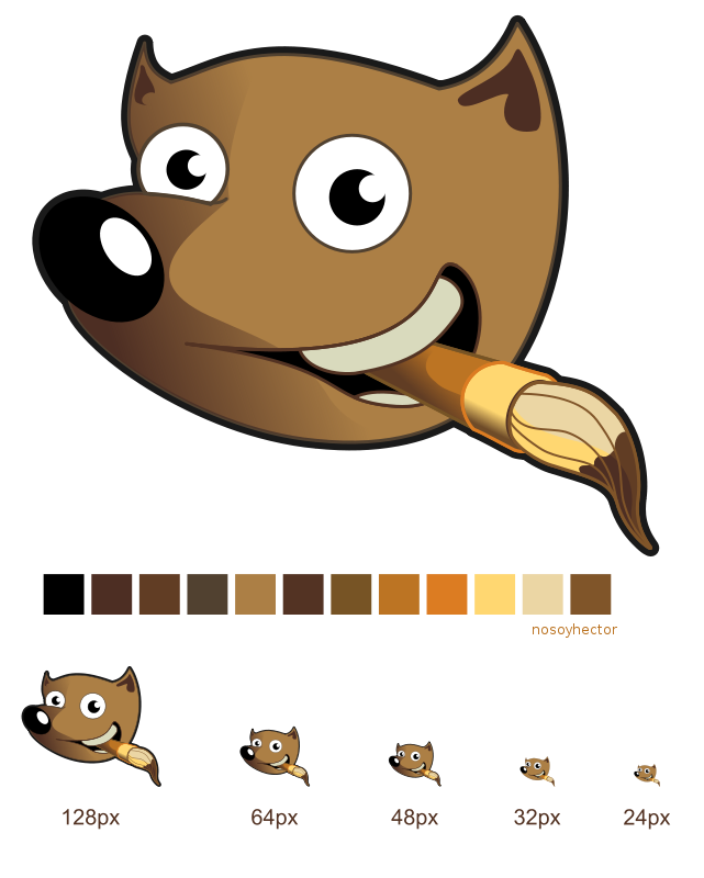 Clipart search on gimp svg freeuse Free Clipart: Wilber - Gimp | hector gomez svg freeuse