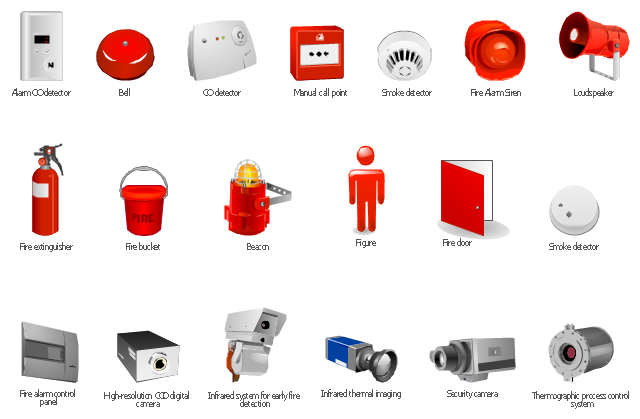 Clipart security and fire safety png free stock Design elements - Fire safety equipment png free stock