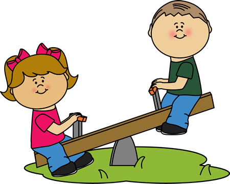 Clipart seesaw banner freeuse stock Children on a See Saw Clip Art | Clip Art-Outside | Art for kids ... banner freeuse stock