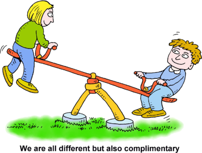 Clipart see saw clip art freeuse library Image: See Saw - We are all different but also complimentary ... clip art freeuse library