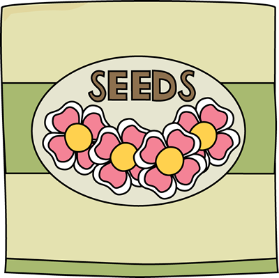 Clipart seed packets jpg black and white library Garden seed packet from My CuteGraphics. Released April 8th, 2013 ... jpg black and white library