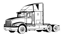 Free clipart semi trucks image free Free Tractor Truck Cliparts, Download Free Clip Art, Free Clip Art ... image free