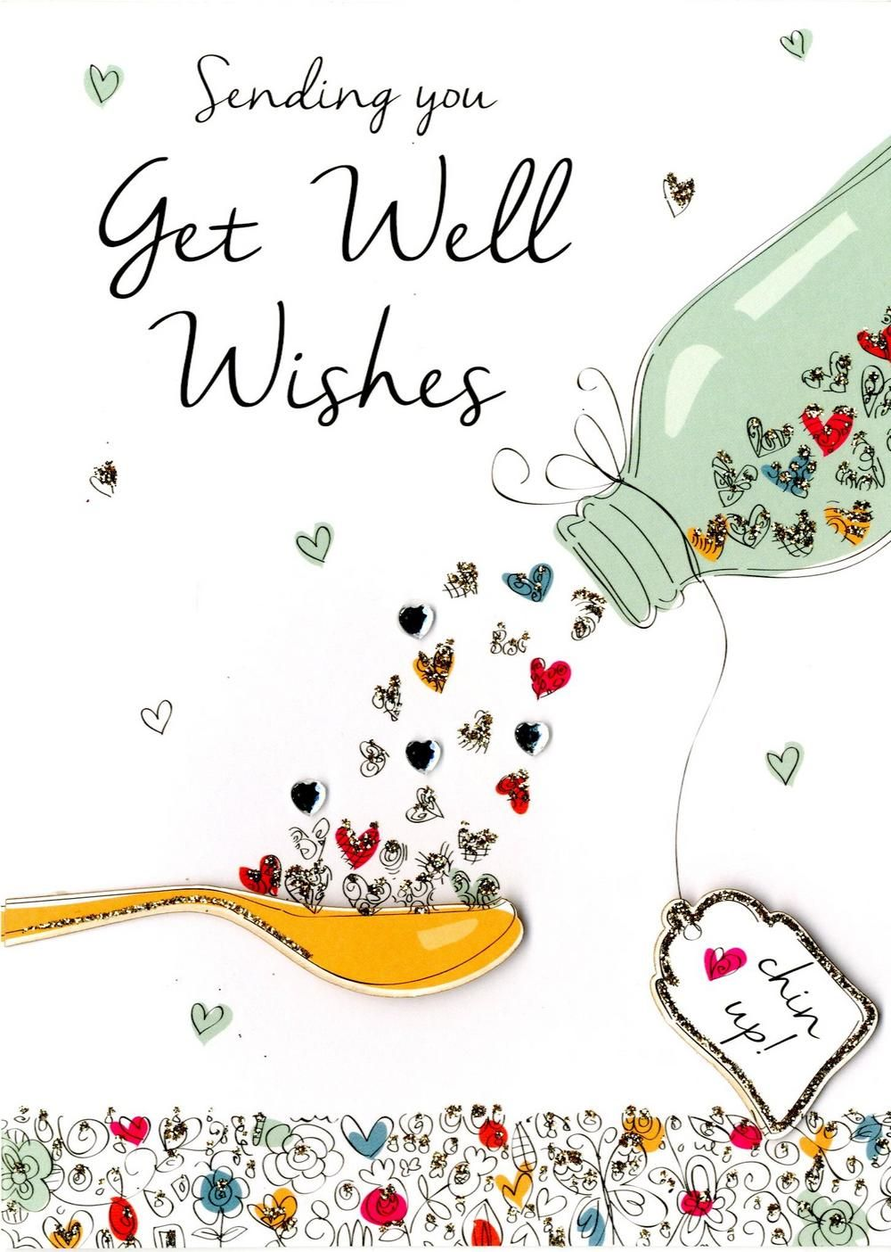 Clipart send a card thinking of you banner transparent library Get Well Wishes Greeting Card | Get Well Soon | Get well wishes, Get ... banner transparent library