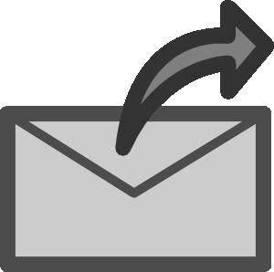 Send clipart black and white svg transparent Send Mail Clip Art at Clker.com - vector clip art online, royalty ... svg transparent