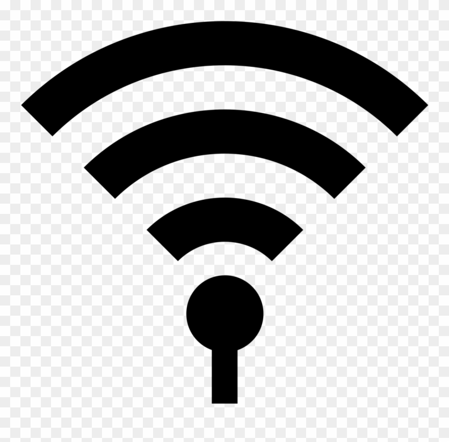 Clipart sensors clipart freeuse library Sensors - Wifi Icon Grey Clipart (#1886973) - PinClipart clipart freeuse library