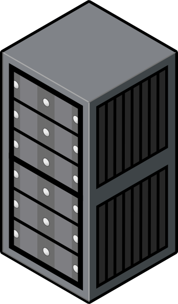 Rack server clipart picture library download Server Rack Cabinet Clip Art at Clker.com - vector clip art online ... picture library download