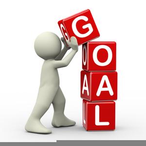 Clipart setting goals