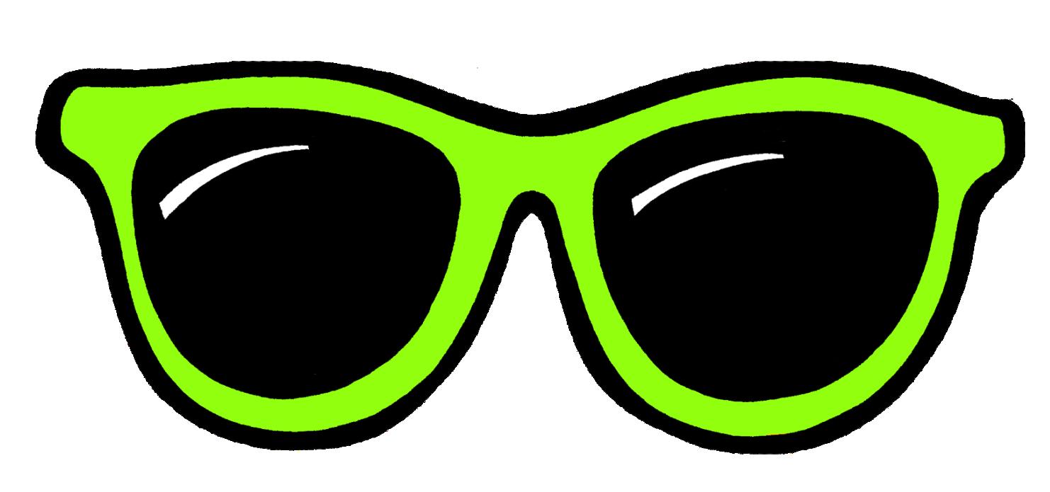 Cool sunglasses clipart