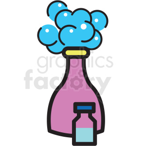 Clipart shampoo bottle clipart freeuse download shampoo bottle vector icon clipart . Royalty-free clipart # 409611 clipart freeuse download
