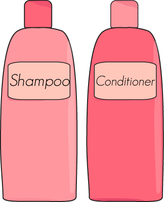 Shampoo images clipart graphic royalty free download Shampoo and Conditioner | clip art #4 | Good shampoo, conditioner ... graphic royalty free download