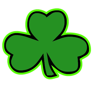 Clipart shamrock free clipart black and white library Free Shamrock Image Free, Download Free Clip Art, Free Clip Art on ... clipart black and white library