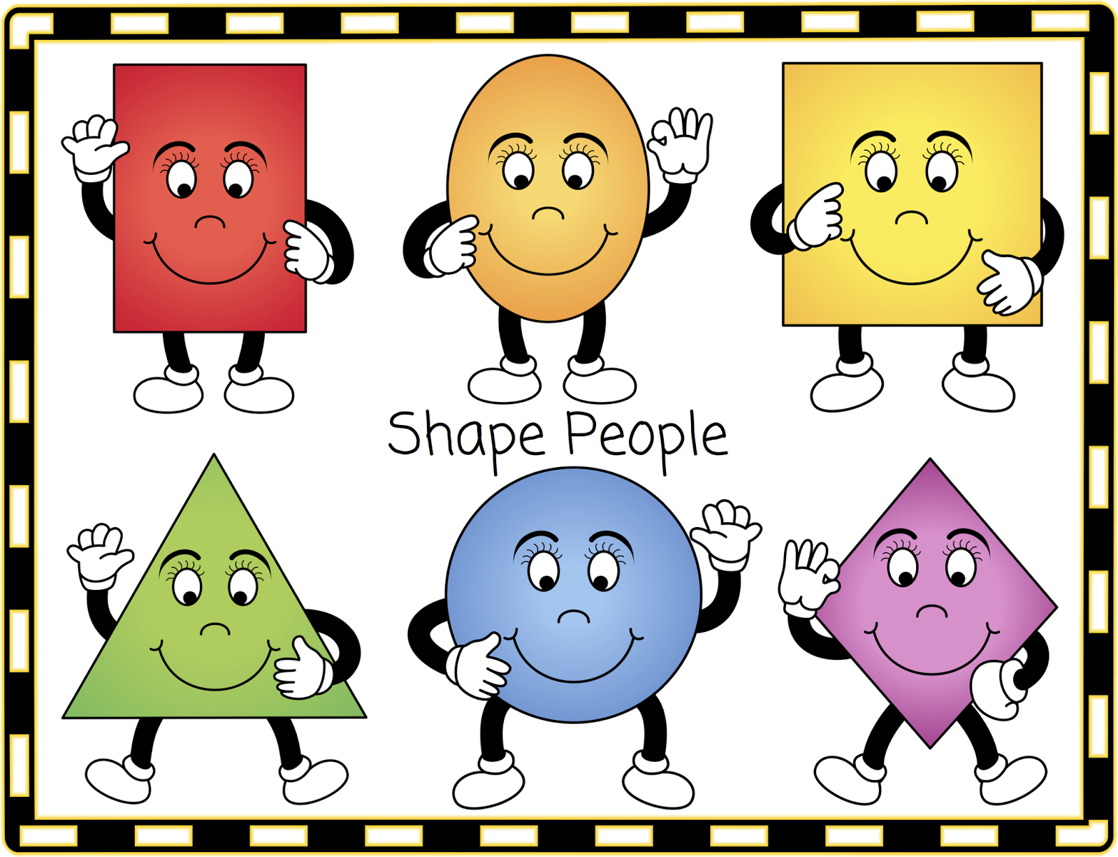 Free shapes clipart picture freeuse stock Free Shapes Cliparts, Download Free Clip Art, Free Clip Art on ... picture freeuse stock