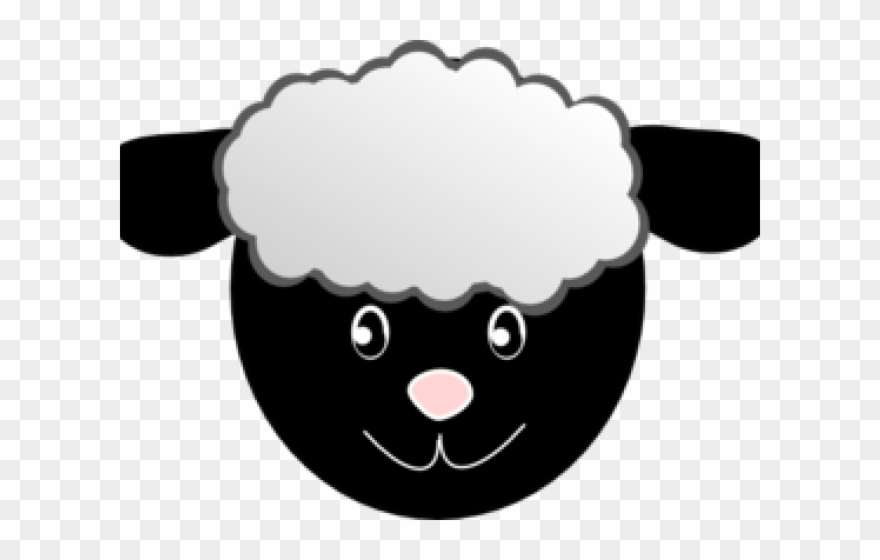 Clipart sheep face svg stock Sheep Clipart Lady - Sheep Face Mask Free Printable - Png Download ... svg stock