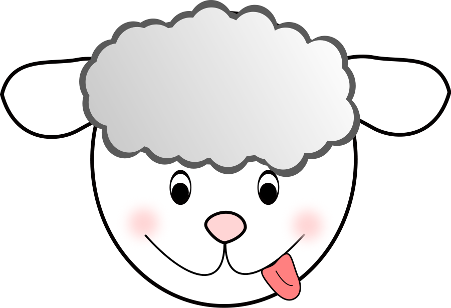 Clipart sheep face picture freeuse library Free Sheep Image, Download Free Clip Art, Free Clip Art on Clipart ... picture freeuse library