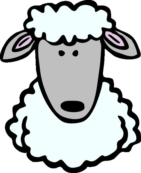 Clipart sheep face clip art transparent Sheep Head Clip Art at Clker.com - vector clip art online, royalty ... clip art transparent