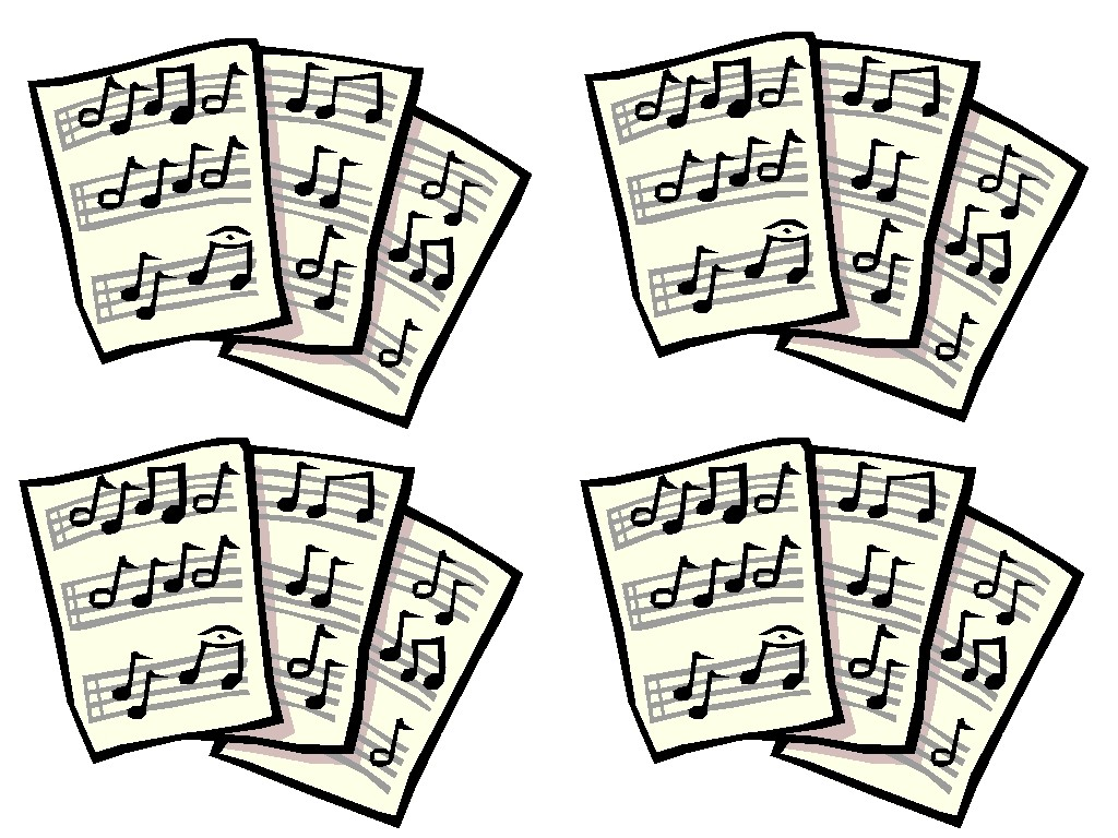 Clipart sheet music jpg freeuse download Sheet Music Clip Art & Sheet Music Clip Art Clip Art Images ... jpg freeuse download