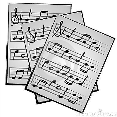 Clipart sheet music svg free stock Sheet Music Clip Art & Sheet Music Clip Art Clip Art Images ... svg free stock