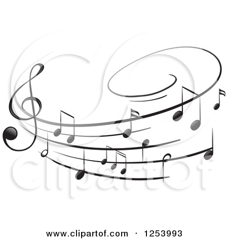 Clipart sheet music svg royalty free download Royalty-Free (RF) Sheet Music Clipart, Illustrations, Vector ... svg royalty free download