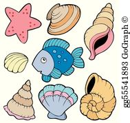 Clipart shell picture transparent library Shell Clip Art - Royalty Free - GoGraph picture transparent library