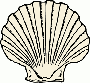 Clipart shellfish picture black and white Shellfish clipart 1 » Clipart Station picture black and white